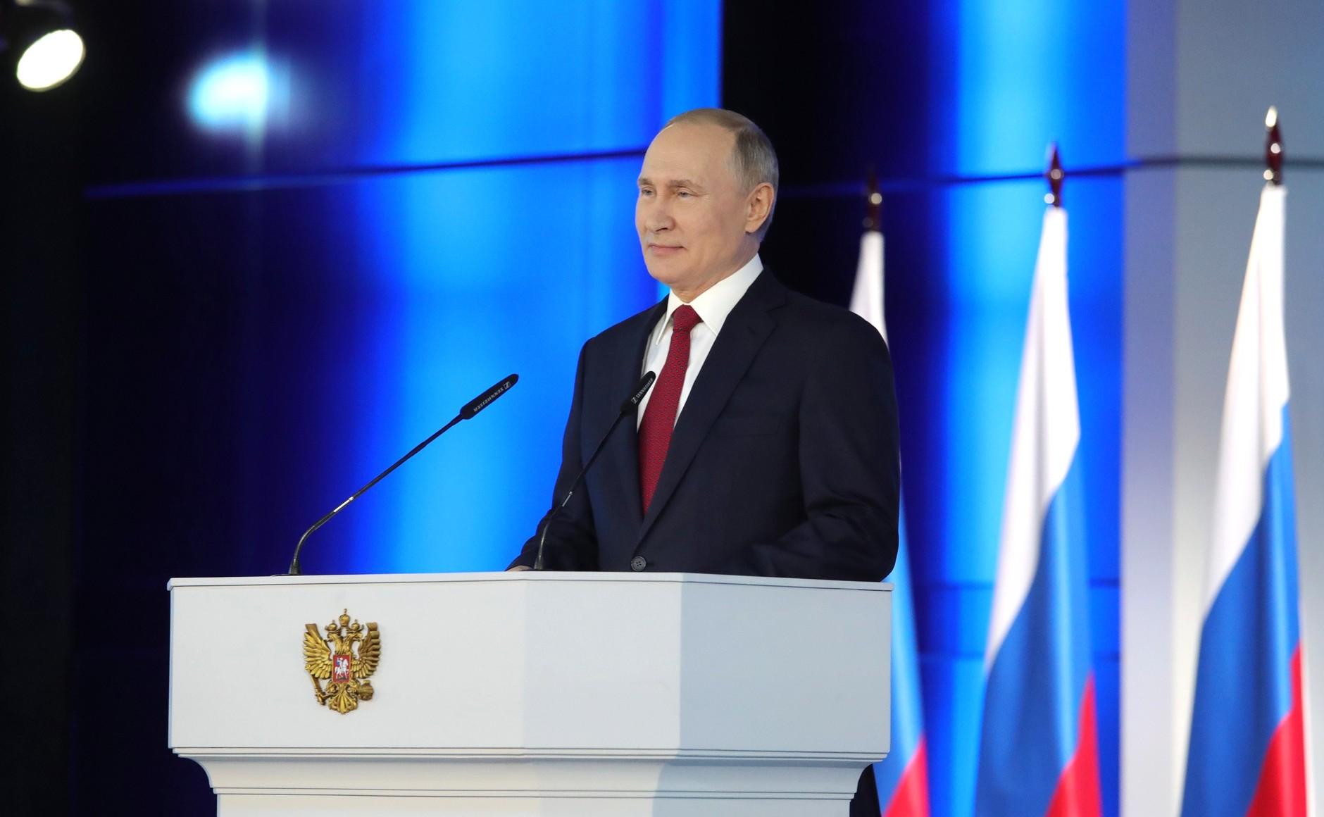 Послание В.В.Путина Федеральному Собранию, 15.01.2020